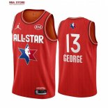 Divise Basket Personalizzate NBA 2020 All Star Paul George NO.13 Rosso