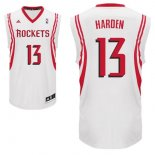Divise Basket Personalizzate NBA Houston Rockets NO.13 James Harden Bianco