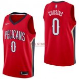 Divise Basket Personalizzate NBA New Orleans Pelicans NO.0 DeMarcus Cousins Rosso Statement 2017/2018
