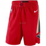 Scontate Pantaloncini NBA New Orleans Pelicans Nike Rosso Statement