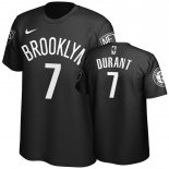 Scontate T-shirt Uomo NBA Brooklyn Nets Kevin Durant Noir