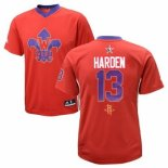 Divise Basket Personalizzate NBA 2014 All Star NO.13 James Harden Rosso