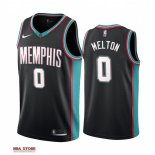 Divise Basket Personalizzate NBA Menphis Grizzlies NO.0 De'Anthony Melton 20th Season Classics Nero