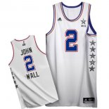 Divise Basket Personalizzate NBA 2015 All Star NO.2 John Wall Bianco
