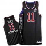 Divise Basket Personalizzate NBA 2015 All Star NO.11 Klay Thompson Nero
