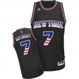 Divise Basket Personalizzate NBA USA Flag Special Edition NO.7 Antmony Nero