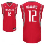Divise Basket Personalizzate NBA Houston Rockets NO.12 Dwight Howard Rosso