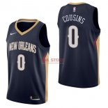 Divise Basket Personalizzate NBA New Orleans Pelicans NO.0 DeMarcus Cousins Marino Icon 2017/2018