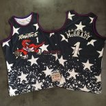 Divise Basket Personalizzate NBA Toronto Raptors NO.1 Tracy McGrady Retro Nero AU