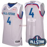 Divise Basket Personalizzate NBA 2017 All Star NO.4 Paul Millsap Grigio