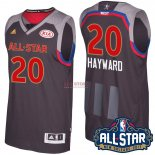 Divise Basket Personalizzate NBA 2017 All Star NO.20 Gordon Hayward Carbone