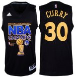 Divise Basket Personalizzate NBA Golden State Warriors Finale NO.30 Curry Nero