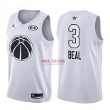 Divise Basket Personalizzate NBA 2018 All Star Bradley Beal NO.3 Bianco