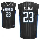 Divise Basket Personalizzate NBA Orlando Magic NO.23 Mario Hezonja Nero