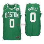 Divise Basket Personalizzate NBA Boston Celtics NO.0 Avery Bradley Verde 2017/2018