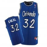 Divise Basket Personalizzate NBA Orlando Magic NO.32 Shaquille O'Neal Blu