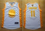 Divise Basket Personalizzate NBA Golden State Warriors NO.11 Klay Thompson