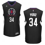 Divise Basket Personalizzate NBA L.A.Clippers NO.34 Paul Pierce Nero