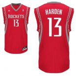 Divise Basket Personalizzate NBA Houston Rockets NO.13 James Harden Rosso