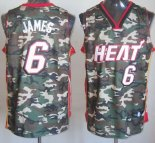 Divise Basket Personalizzate NBA 2013 Camuffare NO.6 James