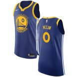 Divise Basket Personalizzate NBA Golden State Warriors NO.0 Patrick McCaw Blu Icon 2017/2018