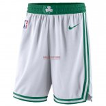 Scontate Pantaloncini NBA Boston Celtics Nike Bianco