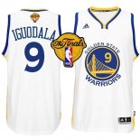 Divise Basket Personalizzate NBA Golden State Warriors Finale NO.9 Iguodala Bianco