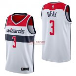 Divise Basket Personalizzate NBA Washington Wizards NO.3 Bradley Beal Bianco Association 2017/2018