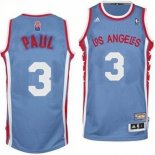 Divise Basket Personalizzate NBA L.A.Clippers ABA NO.3 Paul Grigio