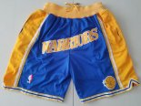 Scontate Pantaloni NBA Golden State Warriors Curry Blu