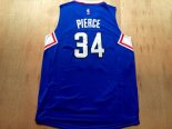 Divise Basket Personalizzate NBA L.A.Clippers NO.34 Paul Pierce Blu