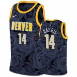 Divise Basket Personalizzate NBA Nike Denver Nuggets NO.14 Gary Harris Nero
