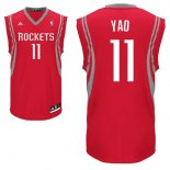 Divise Basket Personalizzate NBA Houston Rockets NO.11 Yao Ming Rosso