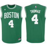 Divise Basket Personalizzate NBA Boston Celtics NO.4 Isaiah Thomas Verde