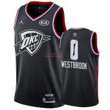 Divise Basket Personalizzate NBA 2019 All Star Russell Westbrook NO.0 Nero