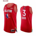 Divise Basket Personalizzate NBA 2020 All Star Anthony Davis NO.3 Rosso