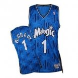 Divise Basket Personalizzate NBA Orlando Magic NO.1 Tracy McGrady Blu Scuro