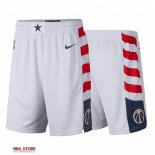 Scontate Pantaloni NBA Washington Wizards Nike Bianco Città 2019-20