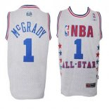Divise Basket Personalizzate NBA 2003 All Star NO.1 Tracy McGrady Bianco