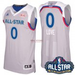 Divise Basket Personalizzate NBA 2017 All Star NO.0 kevin love Grigio