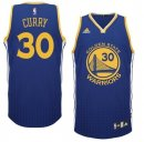 Divise Basket Personalizzate NBA Golden State Warriors Moda Risuonare NO.30 Curry Blu