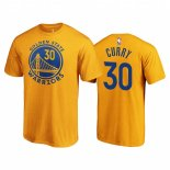Scontate T-shirt Uomo NBA Golden State Warriors Stephen Curry Jaune