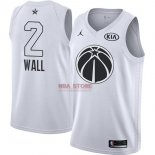 Divise Basket Personalizzate NBA 2018 All Star John Wall NO.2 Bianco