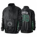 Divise Basket Personalizzate Giacca uomo De NBA Boston Celtics NO.00 Robert Parish Noir