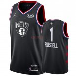 Divise Basket Personalizzate NBA 2019 All Star DAngelo Russell NO.1 Nero