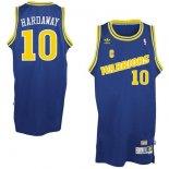 Divise Basket Personalizzate NBA Golden State Warriors NO.10 Anfernee Hardaway Retro Blu