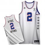 Divise Basket Personalizzate NBA 2015 All Star NO.2 Kyrie Irving Bianco
