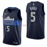 Divise Basket Personalizzate NBA Dallas Mavericks NO.5 J.J. Barea Nero Statement 2017/2018