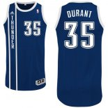 Divise Basket Personalizzate NBA Oklahoma City Thunder NO.35 Kevin Durant Retro Blu
