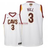 Divise Basket Personalizzate NBA Bambino Cleveland Cavaliers Finale Campioni 2018 NO.3 George Hill Bianco Association Patch